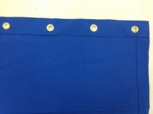 Royal Blue Grommets