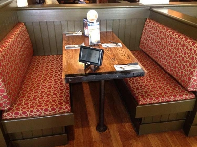UNO's Restaurant Upholstered Booth Seating