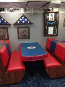 USS Cole Mess Deck - After