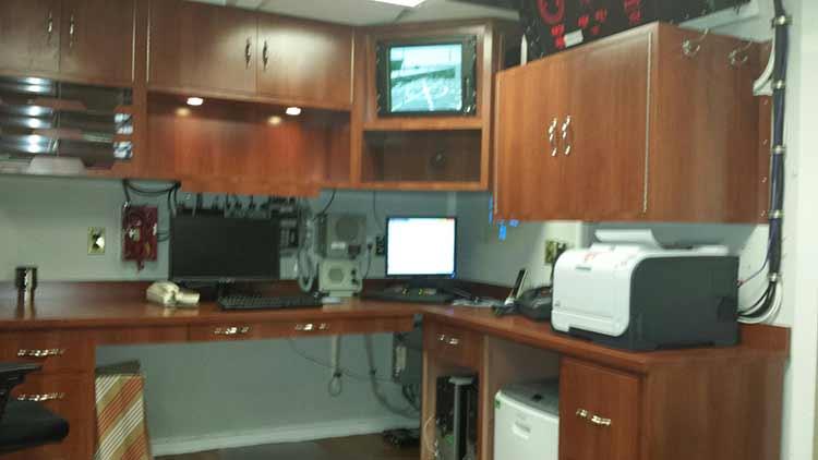 USS Oscar Austin Co Cabin - After