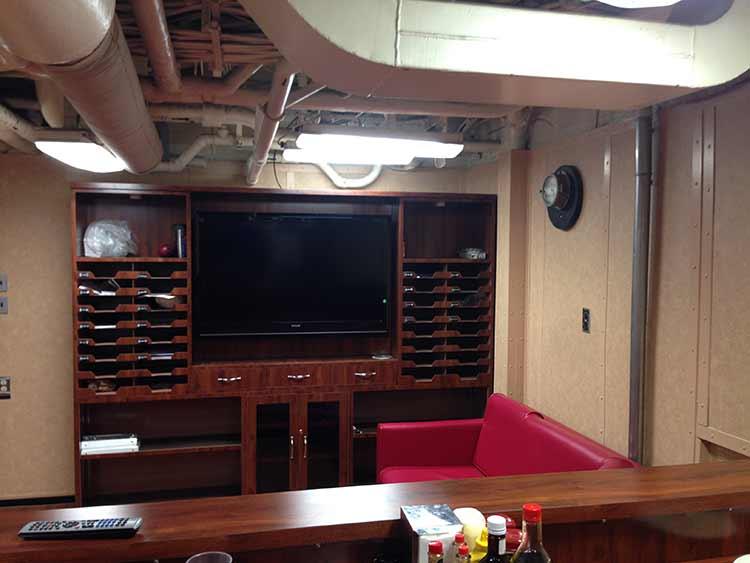 USS Ramage Chief's Lounge
