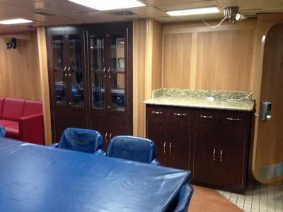 USS Ramage Wardroom