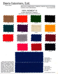 Nomex colors